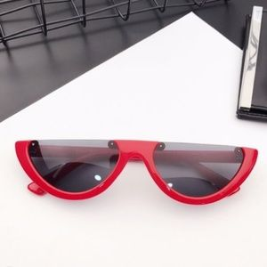 Accessories - Rimless Retro Style Shades